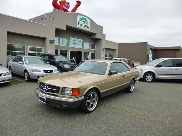 1984 mercedes benz 380 sec outside cowichan valley cowichan for Mercedes benz roadside assistance free