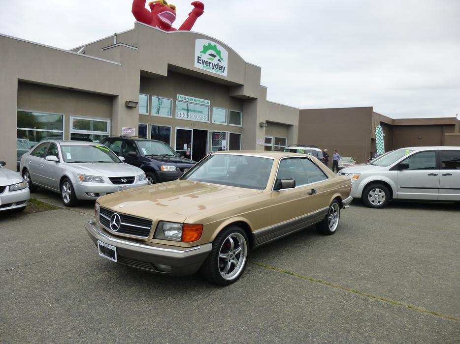 1984 mercedes benz 380 sec outside comox valley courtenay for Mercedes benz bay ridge