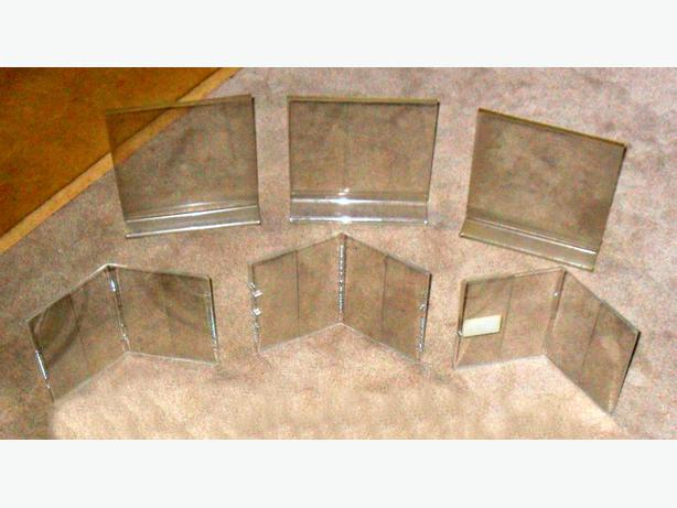 13 Good Condition or New Plastic Photo Frames