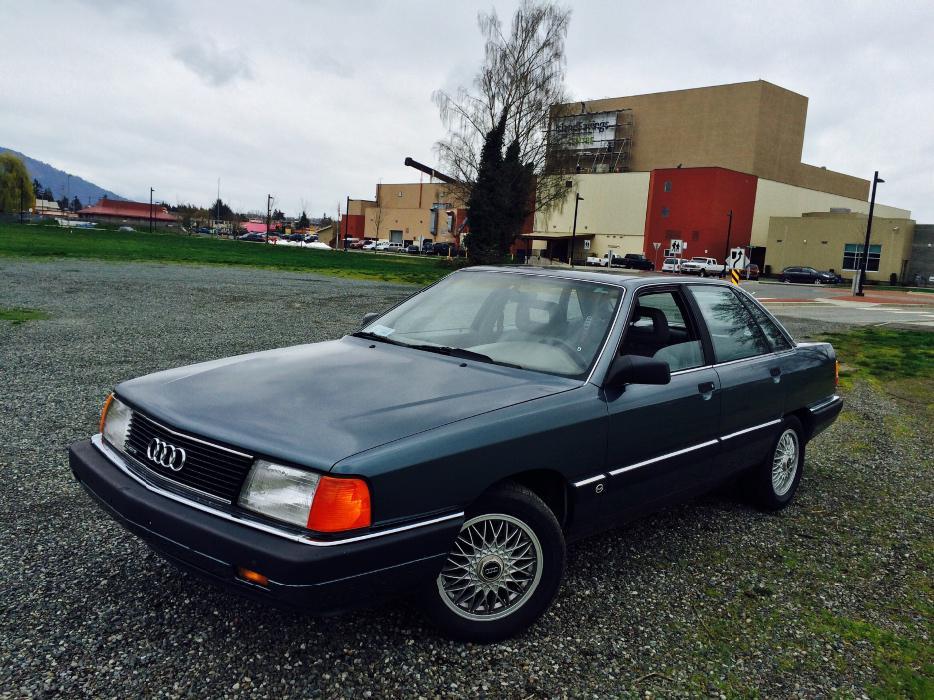 1989 Audi 100 Quattro Outside Nanaimo Nanaimo