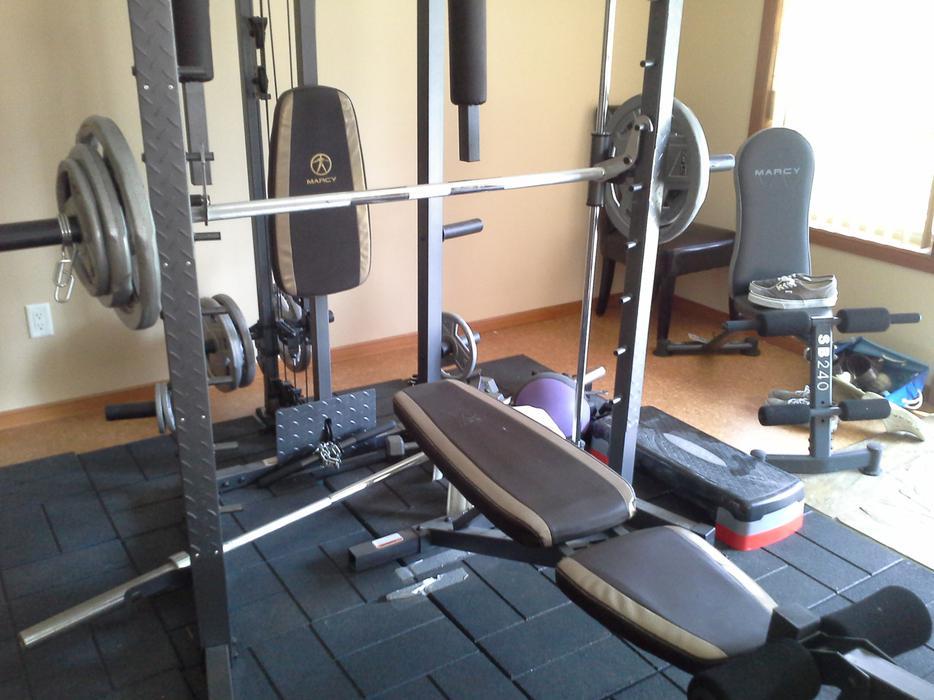 Marcy home gym north nanaimo mobile
