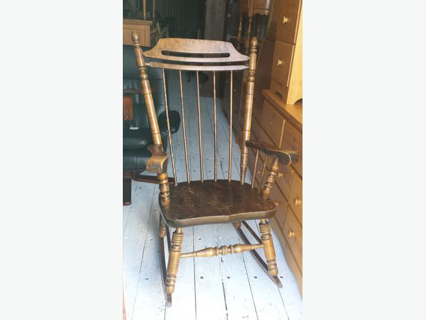 Two Wooden Rocking Chairs FOR SALE Central Nanaimo, Nanaimo