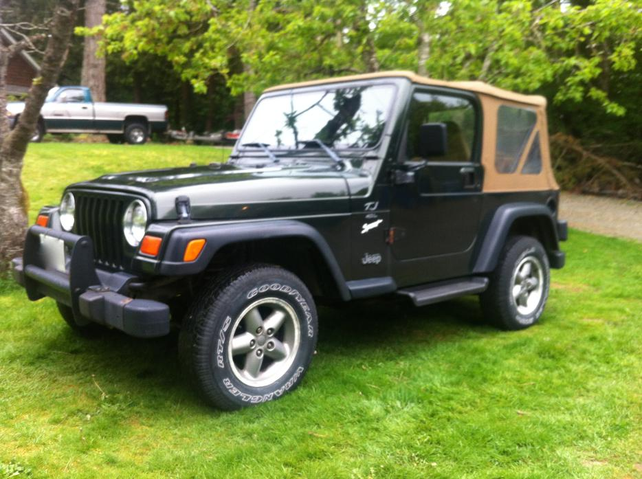 1997 Jeep Tj Wrangler Outside Nanaimo Nanaimo