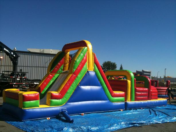 Inflatable Obstacle Course Rentals - All Ages, Teens & Adult Use Too!
