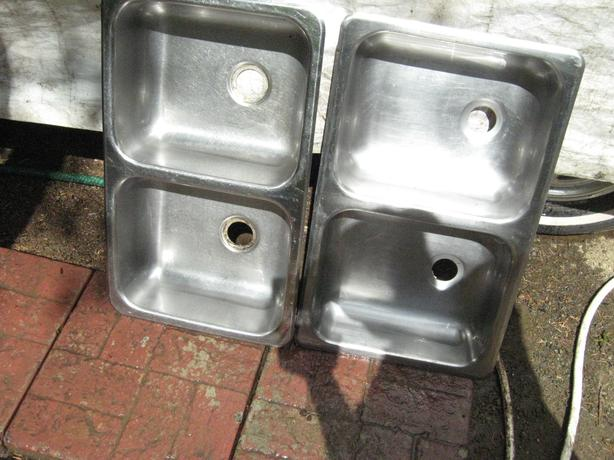 2 smaller double  sinks from rv`s