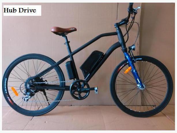 Electric Mid Drive Hub Drive Bike 48v 750w Outside