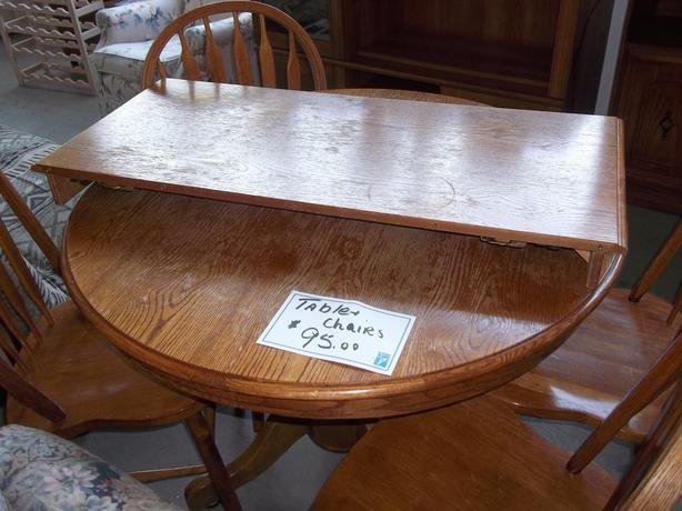 Was 95 Table With 4 Chairs For Sale At St Vincent De Paul Thrift Store Saanich Victoria Mobile