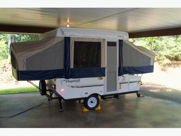 2008 Flagstaff 10 Ft Tent Trailer Outside Nanaimo Nanaimo