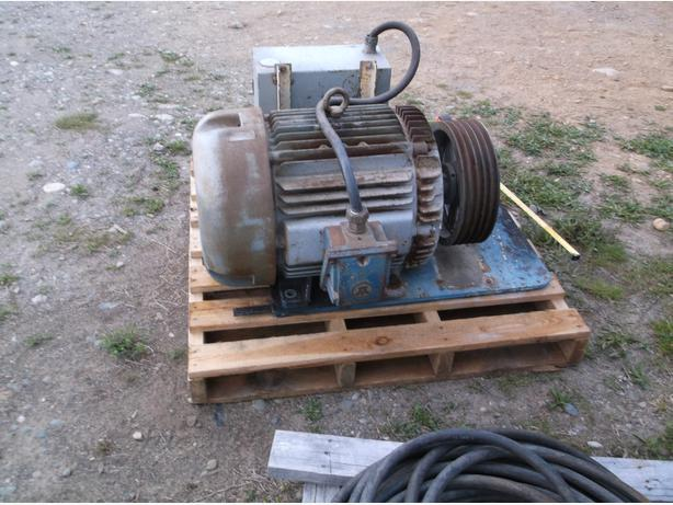 Baldor 50 hp electric motor qualicum nanaimo for 50 hp dc motor