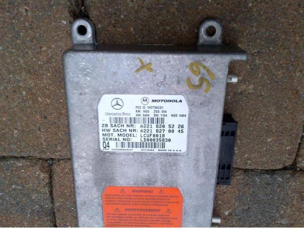 MERCEDES S C CLASS VOICE CONTROL UNIT LINGUATRONIC A2208206285