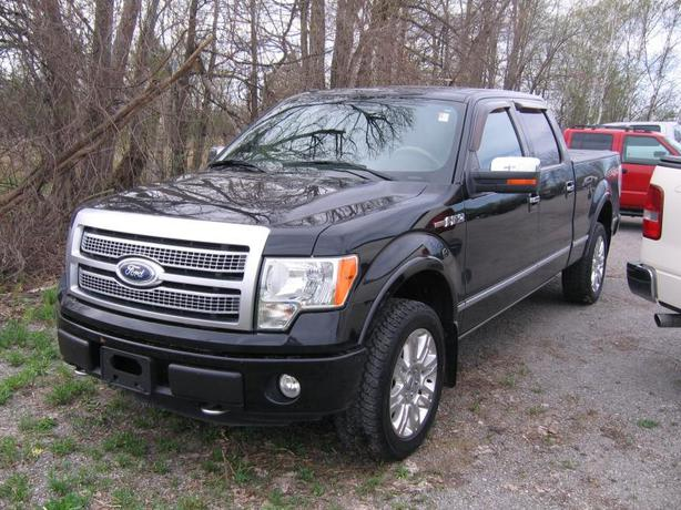 2010 ford f 150 platinum supercrew 4x4 outside ottawa gatineau area ottawa. Black Bedroom Furniture Sets. Home Design Ideas