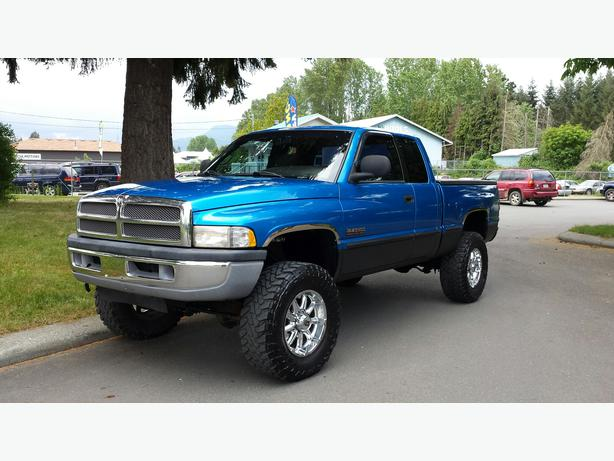 1998 dodge ram 2500 lifted 12v cummins diesel outside victoria victoria. Black Bedroom Furniture Sets. Home Design Ideas