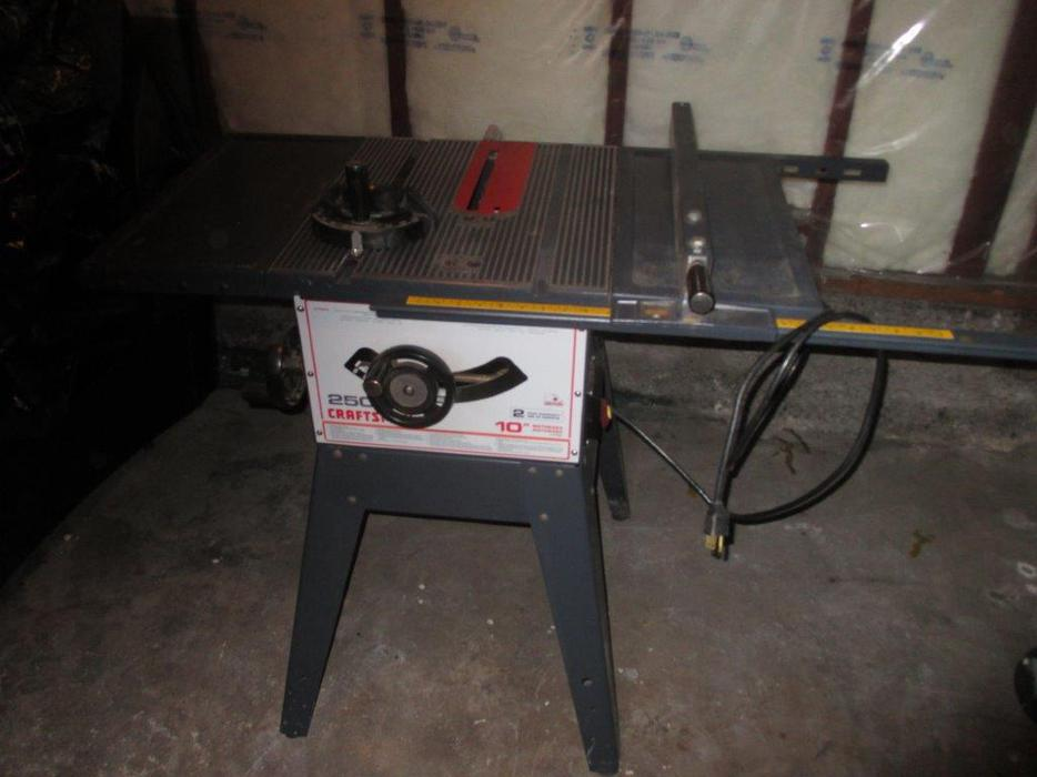 Craftsman 10 table saw victoria city victoria for 10 craftsman table saw parts