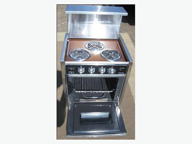 Electric Rv Stove And Oven ~ Electric marine rv stove oven saanich victoria mobile