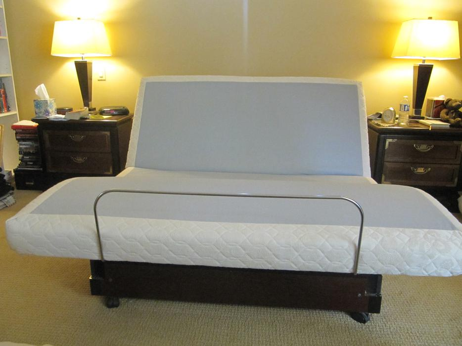 The Wave Nanaimo >> Electric Adjustable Queen Bed Frame Qualicum, Nanaimo - MOBILE