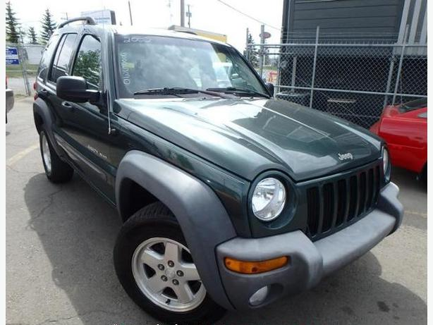 excellent 2002 jeep liberty sport edition green auto low. Black Bedroom Furniture Sets. Home Design Ideas