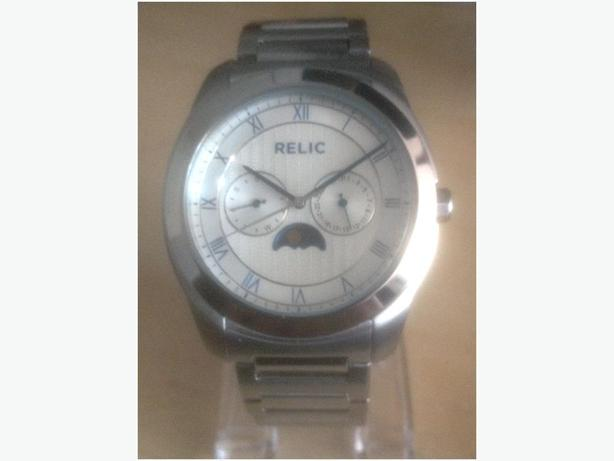 Relic (by Fossil) Stainless Steel Multifunction Men's Chronograph