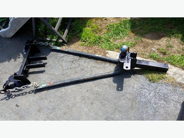 Stabilizer Bars For Travel Trailers : Sway control weight distribution hitch system with
