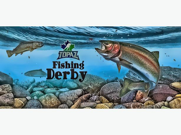 Fishing derby hosted by topaz hockey west shore langford for Topaz lake fishing