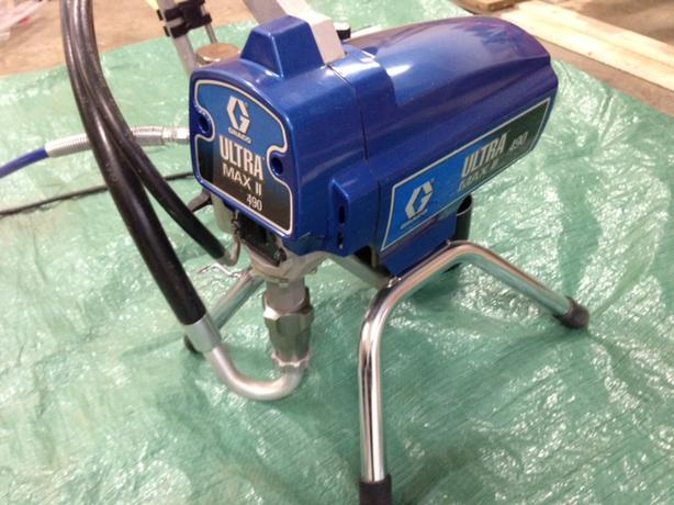 Like New Commercial Paint Sprayer Graco Ultra Max Ii 490