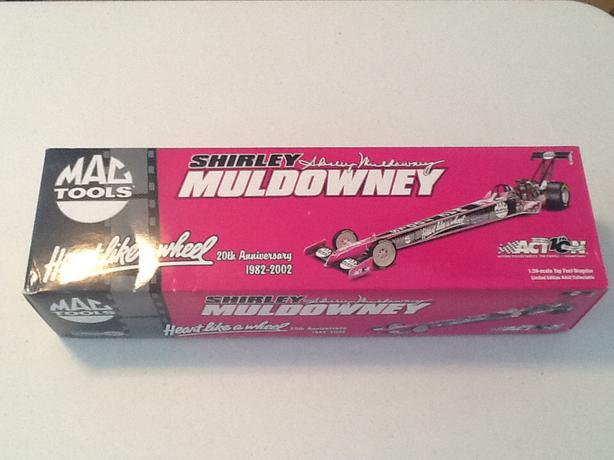 NHRA 1/24 Scale Shirley Muldowney 20th Anniversary Top Fuel,Dragster