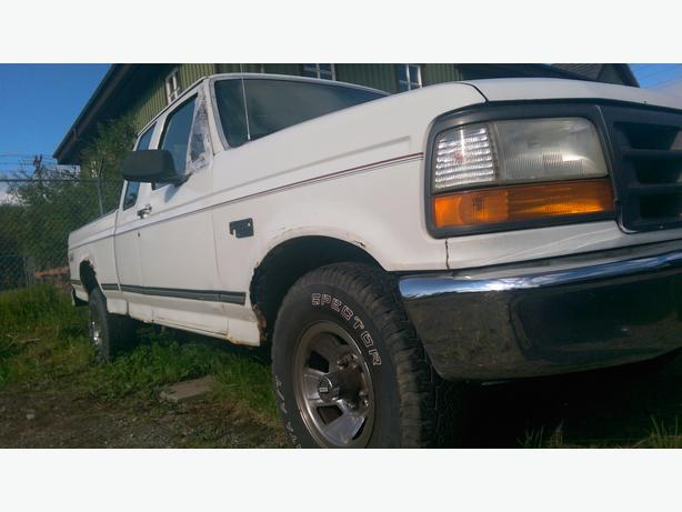 1995 ford f 150 xl supercab outside nanaimo parksville qualicum beach. Black Bedroom Furniture Sets. Home Design Ideas