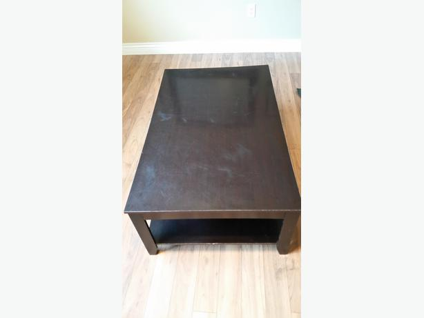2 Side Tables And A Coffee Table Dark Brown Set 20 Obo West Shore Langford Colwood