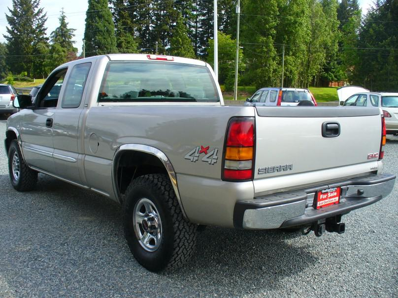 2004 gmc sierra 1500 ext cab 4x4 outside nanaimo nanaimo. Black Bedroom Furniture Sets. Home Design Ideas