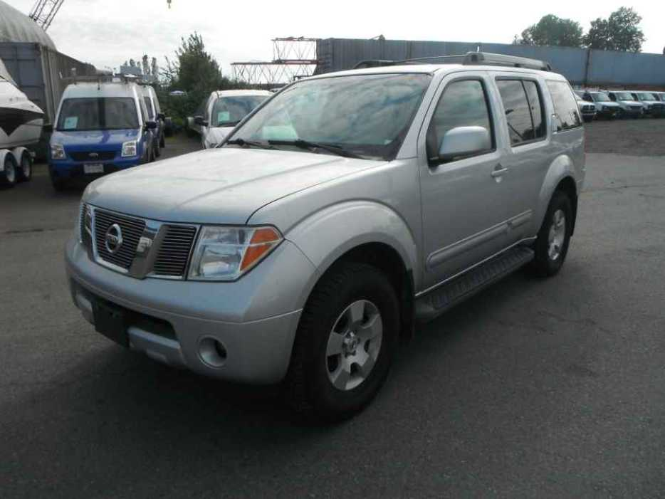 2007 Nissan Pathfinder Outside Okanagan Okanagan