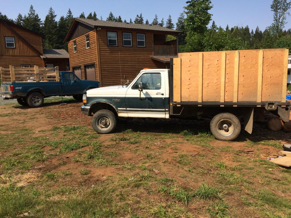 93 f350 4x4 7 3 flatdeck dully 5 speed outside nanaimo for 7 summerland terrace