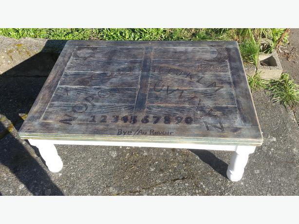 Ouija Board coffee table Oak Bay Victoria