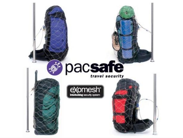 PacSafe Travel Security Backpack Lock for 85L bag or smaller
