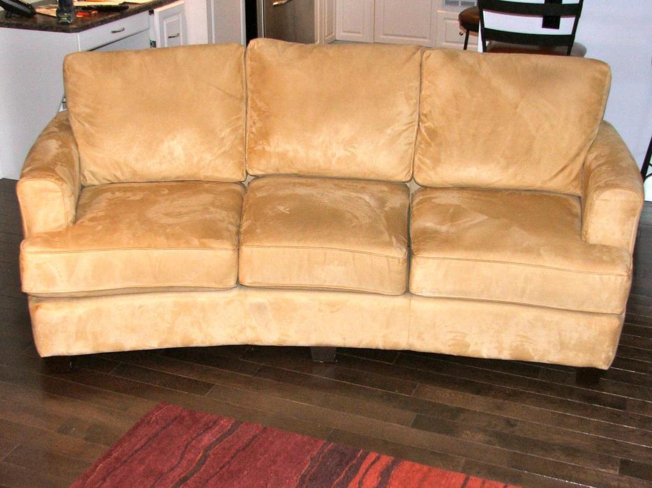 Sofa Curved High Back Courtenay Courtenay Comox