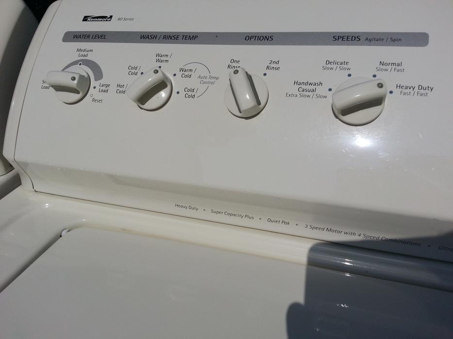 Kenmore 90 Series Heavy Duty Super Capacity Plus Dryer