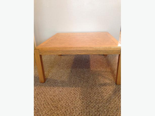 Solid Wood Coffee Table With 2 End Tables South Regina Regina