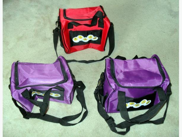 4 New Same Style Bingo Bags (3 shown), each with: