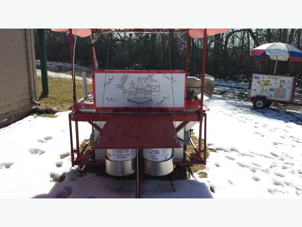 Hot Dog Cart For Sale Winnipeg