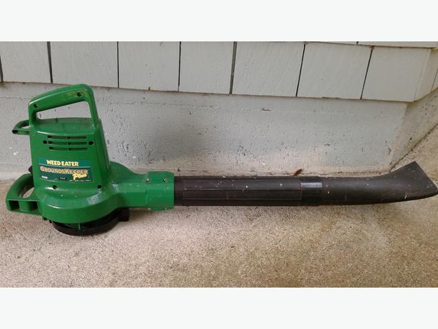 Weed Eater Leaf Blower : Reduced weed eater quot grounds keeper plus electric leaf