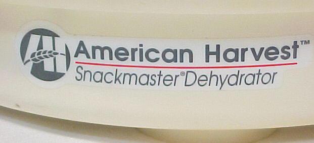 Nesco american harvest dehydrator instruction manual