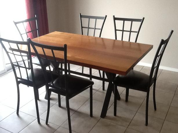 kitchen table and 6 chairs east