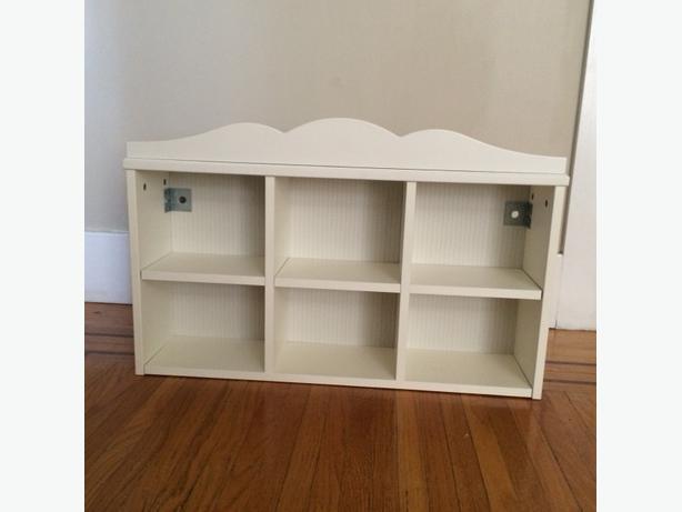Ikea children 39 s box shelving unit in white victoria city for Ikea box shelving unit