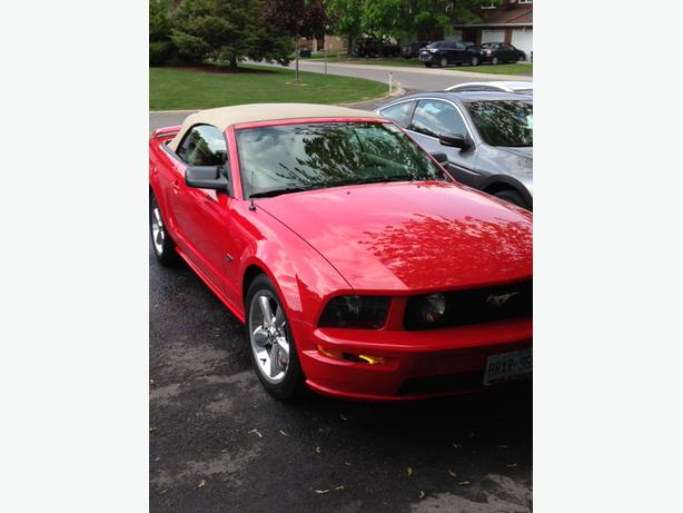 prestine 2006 ford mustang gt convertible nepean ottawa. Black Bedroom Furniture Sets. Home Design Ideas