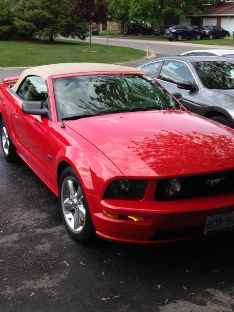 prestine 2006 ford mustang gt convertible nepean ottawa mobile. Black Bedroom Furniture Sets. Home Design Ideas
