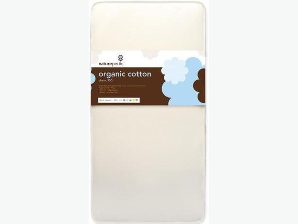 REDUCED - Naturepedic No-Compromise Organic Cotton Crib Mattress