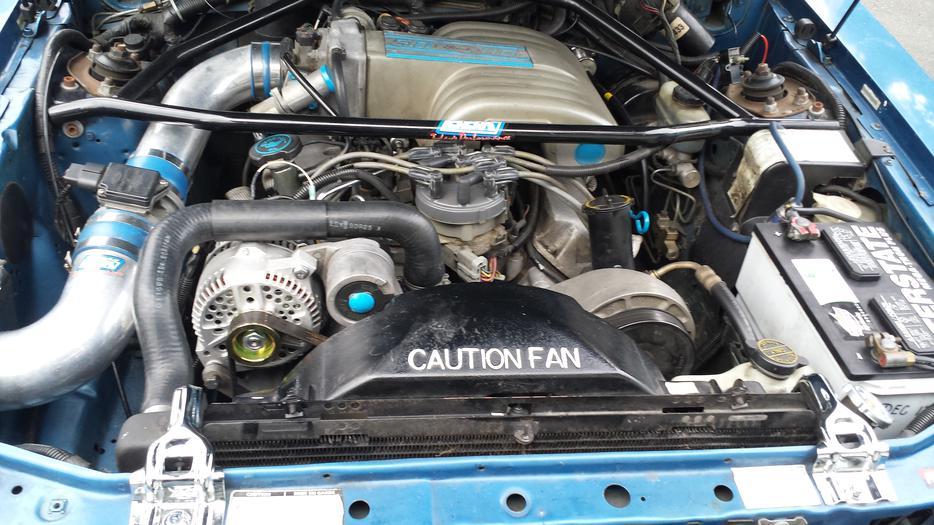 1993 ford mustang lx 5.0 l v8 manual sedan