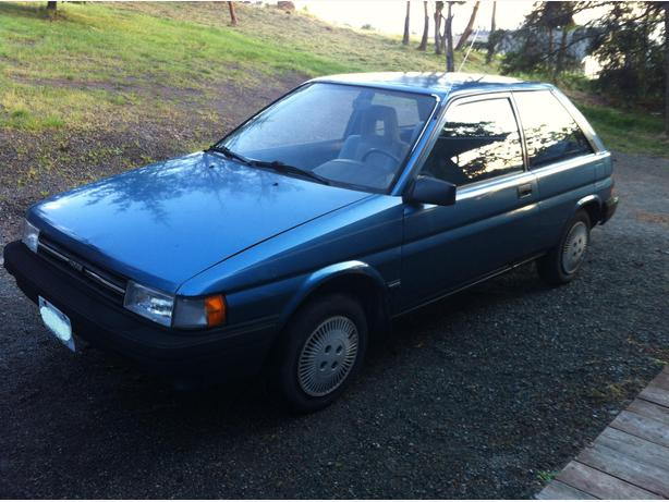 1989 toyota tercel outside nanaimo parksville qualicum. Black Bedroom Furniture Sets. Home Design Ideas