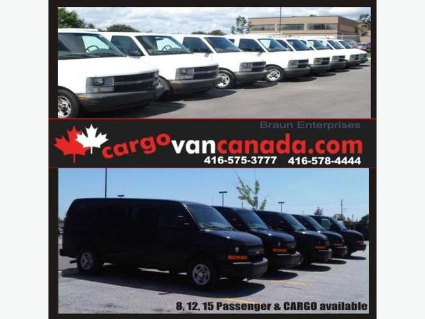 * 12 PASSENGER 8 & 15 * 2O15-O8 *AWD & RWD* Savana Express/ Ford & CARGO