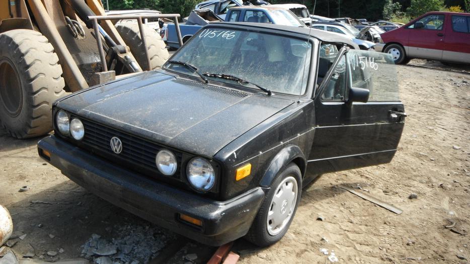1989 Vw Rabbit Cabriolet Cabriolet For Parts Malahat