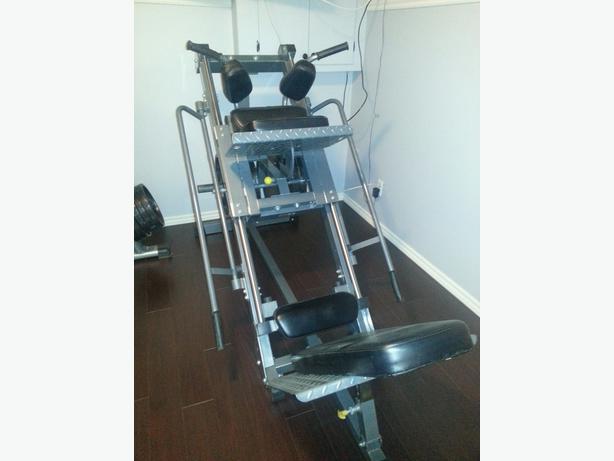 used leg press hack squat machine