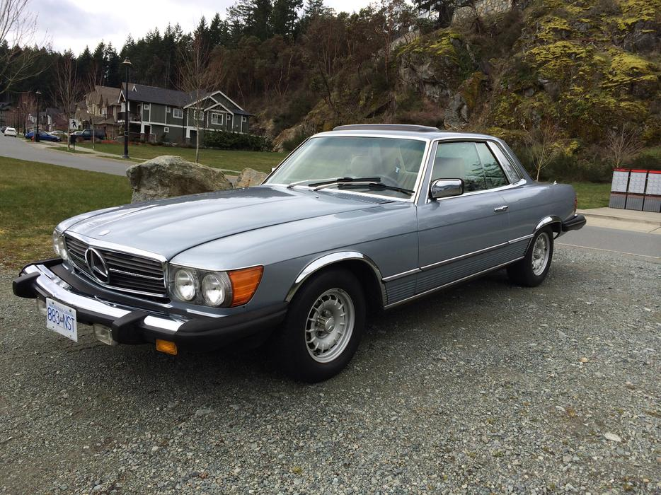 Mercedes Benz Houston North U003eu003e 1981 Mercedes Benz 380SLC   Collector Plates  West Shore: